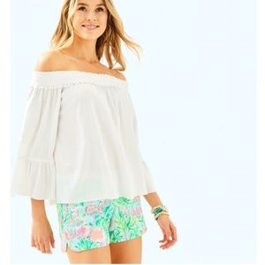 NWT Lilly MOIRA Top Resort White